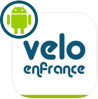 Application gratuite Vélo en France (version Android)