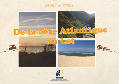 De la côte Atlantique au Lot - version papier