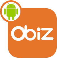 Application gratuite Obiz (version Android)