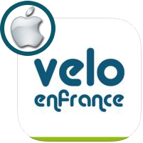 Application gratuite Velo en France (version iOS)