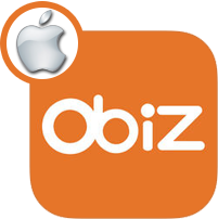 Application gratuite Obiz (version iOS)